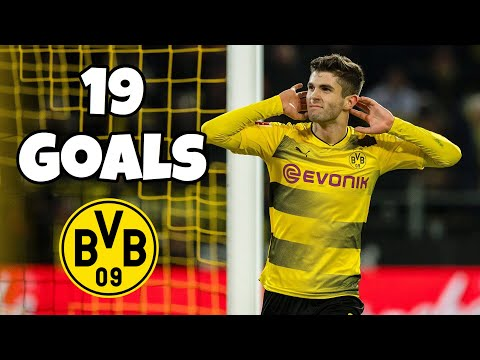 Christian Pulisic • Every goal for Borussia Dortmund (2016-2019)