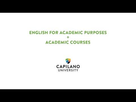 English for Academic Purposes + Academic Courses at Capilano University