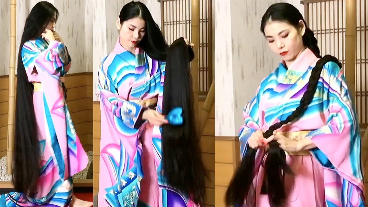 Realrapunzels Super Long Asian Hair Preview Youtube