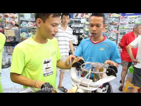 Jayson Sports Yonex Protech 8 Electric Badminton Stringing Machines Yonex Master Stringer Halim