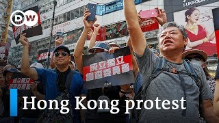 Hong Kong protest: Could Beijing send in troops? | DW News