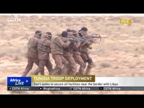 Tunisia seeks to secure oil facilities near the border with Libya