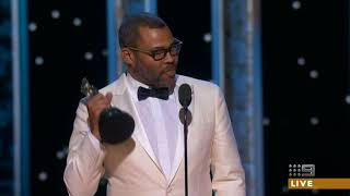 Jordan Peele wins Oscar for Get Out 2018