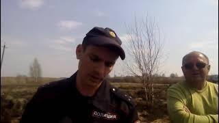 сказ о запрете рыбной ловле г  Рославль озеро Бодровка ч 4