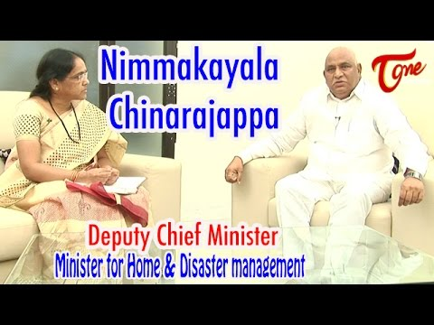 TORI Live Show with Deputy Chief Minister and Home Minister | Nimmakayala Chinarajappa