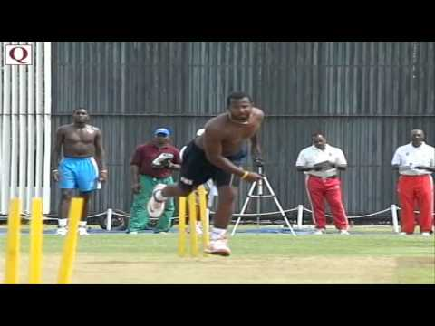 Dwayne Smith - West Indies Fast Bowler.
