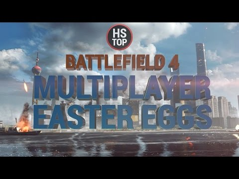 Top 20 Multiplayer Easter Eggs ★ Battlefield 4