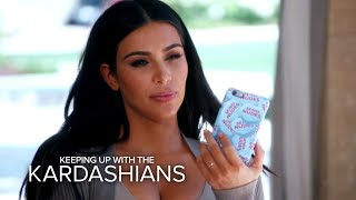 KUWTK | Kim Urges Kourtney to End Chymoji Beef With Rob | E!