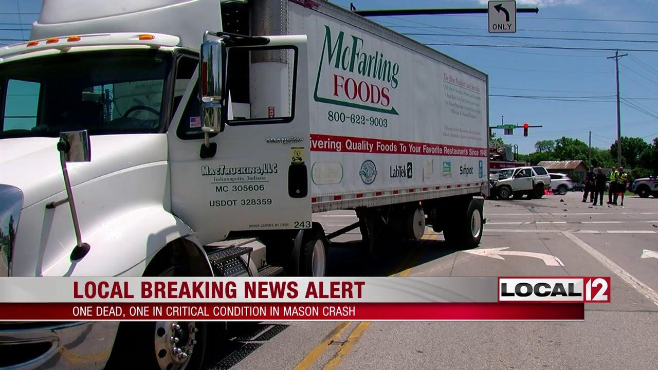 1 dead, 1 injured in Mason accident involving semi, SUV