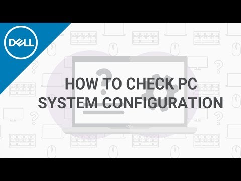 How To Find My Dell Laptop Configuration And Computer Specs (Official Dell Tech Support)