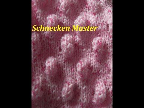 Schnecken Muster * Muster Stricken*Muster Für Pullover*Mütze Tutorial