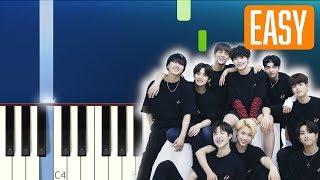 Stray Kids - MIROH, 스트레이키즈  (100% EASY PIANO TUTORIAL)