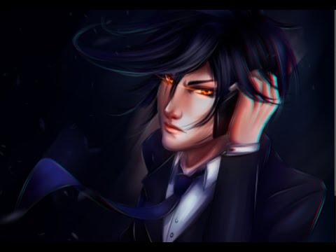 drawing semi realistic anime guy