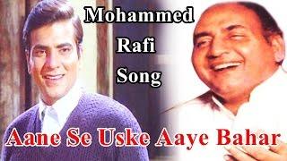 Anese Uske Aye Bahar Mohd Rafi Jeene Ki Raah Instrumental