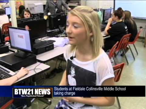 Fieldale Collinsville Middle School students are taking charge