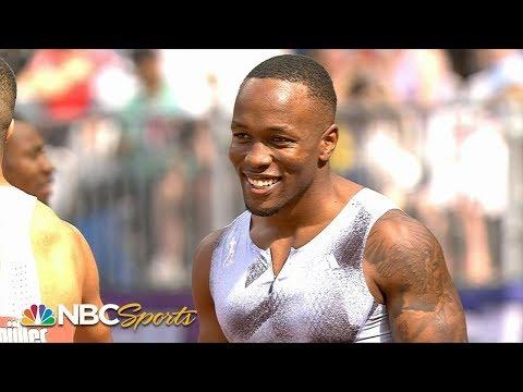 2019 Diamond League: Akani Simbine wins men's 100m   NBC Sports