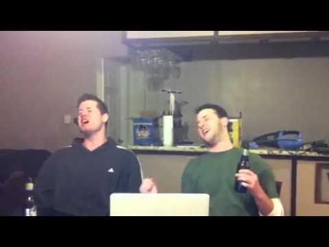 Scottie and Brian karaoke