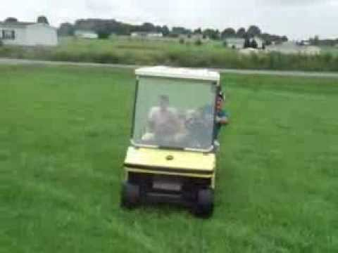 Melex golf cart battery powered asking only $1500 or trade for small on