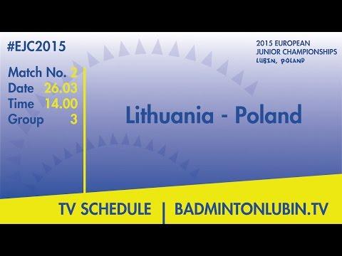 Lithuania - Poland #EJC2015 Lubin, Poland