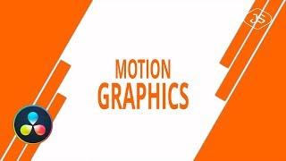 Davinci Resolve - Motion Graphics #7