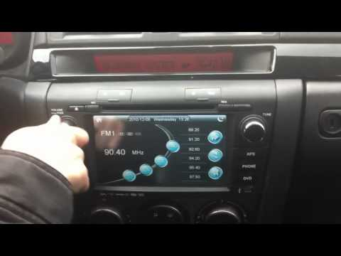 mazda 3 navi radio teil 1 - youtube