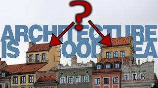 Po co są te małe domki na warszawskich dachach?   Architecture is a good idea
