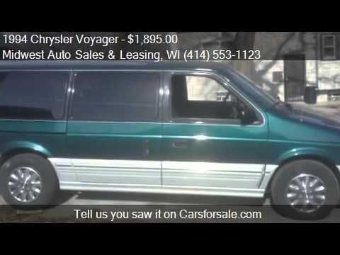 1994 Chrysler Voyager  for sale in Milwaukee, WI 53210 at th