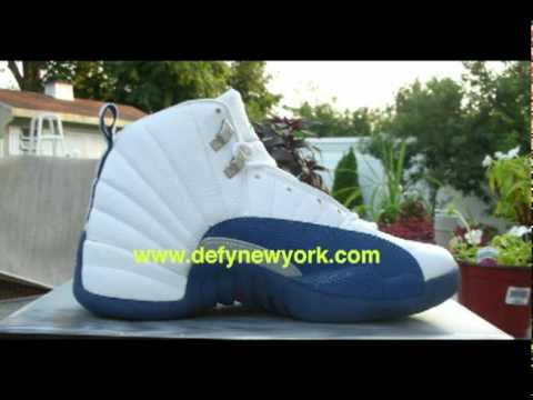 best loved f4cc8 c5abb Nike Air Jordan XII 2004 Retro White/French Blue Metallic Silver Varsity Red