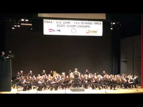 North Bend High School State Band Competition 2015