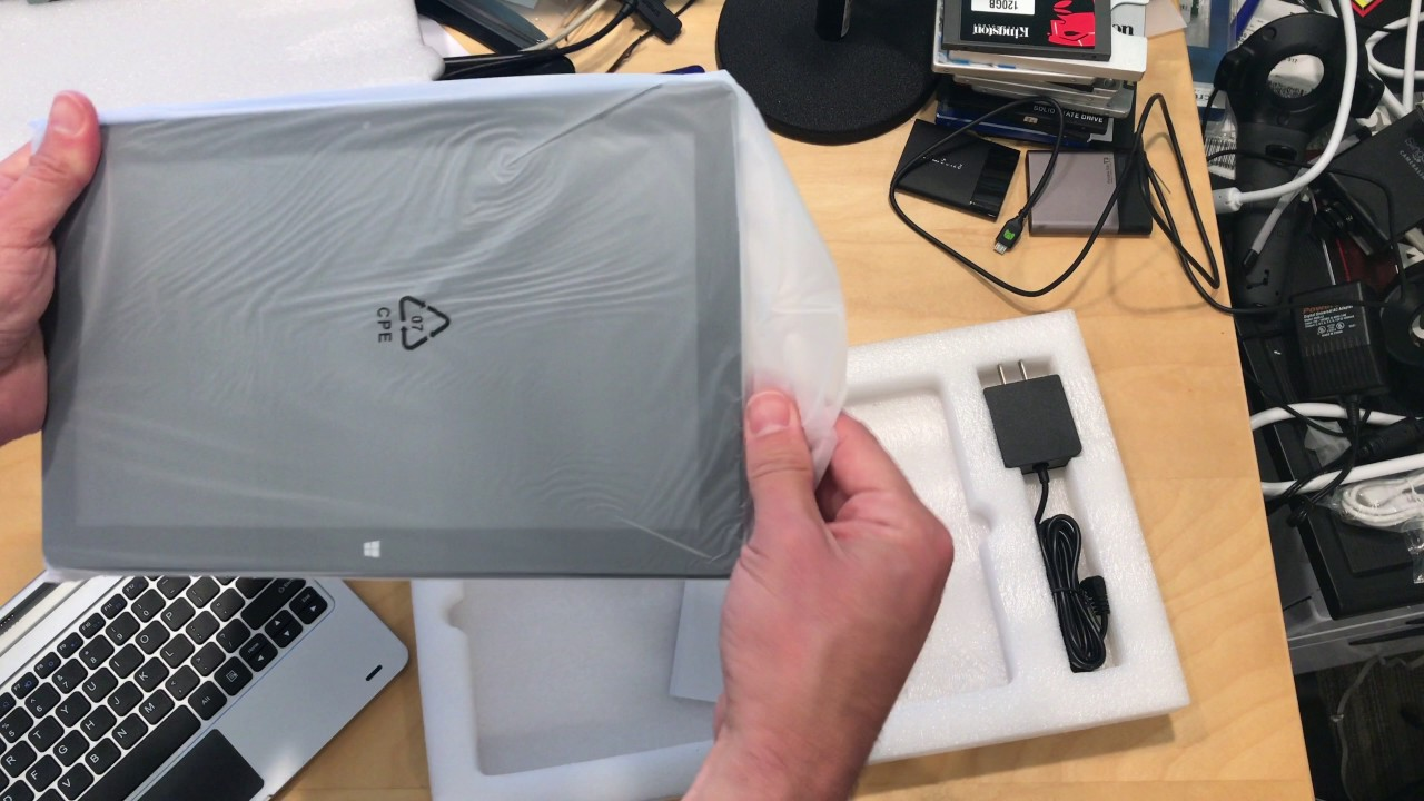 b9cfd1e03c3 Jumper EZpad 6 2 in 1 Windows Tablet PC Unboxing - YouTube