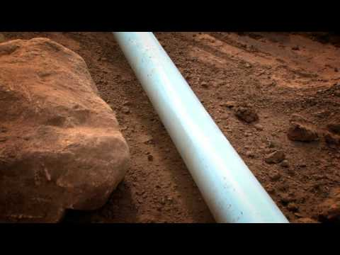 Testing PVC-O pipe in the field