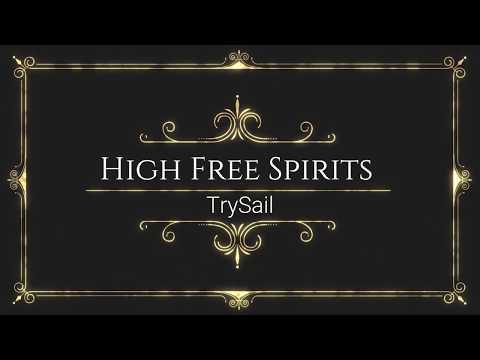 中罗歌詞』 Haifuri (High School Fleet) OP Full - High Free Spirits / TrySail ( Lyrics )