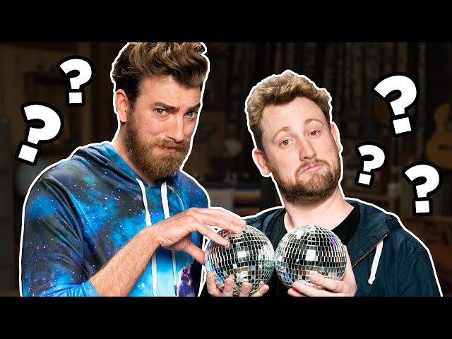 Rhett & Link Fondle Alex's Balls.