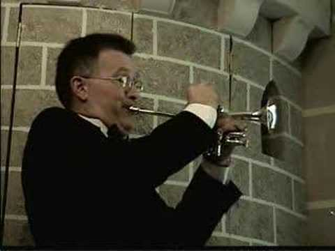 Pachelbel: Canon in D - Randy Dunn, piccolo trumpet + organ