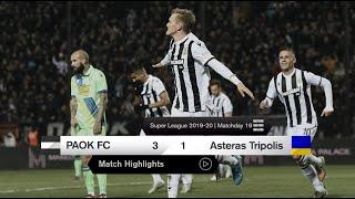 Τα στιγμιότυπα του ΠΑΟΚ-Αστέρας Τρίπολης - PAOK TV