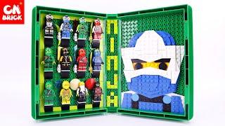 LEGO NINJAGO SETS  MASTERS OF SPINJITZU BOOK JLB3D147 Unofficial lego