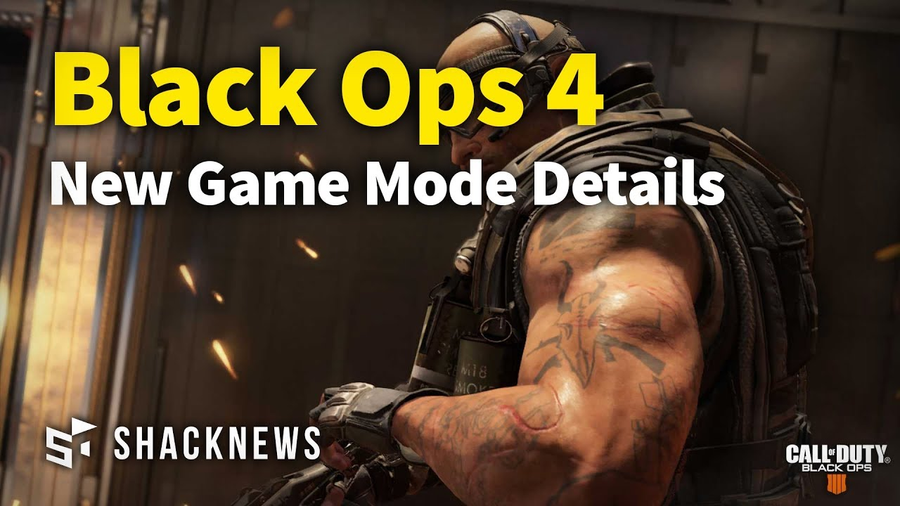 Treyarch says Black Ops 4 mod support is on the table | PCGamesN