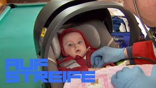 Baby ausgesetzt! Was soll es beim Billard? | Auf Streife | SAT.1 TV
