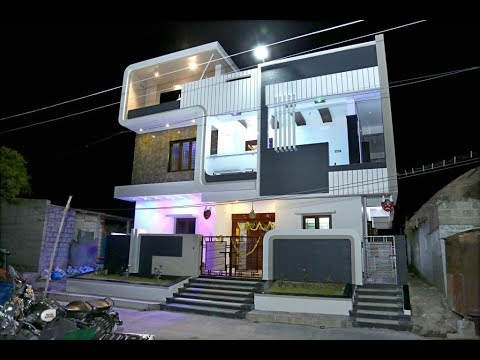 hqdefault - 48+ Modern Small Duplex House Designs And Pictures Images