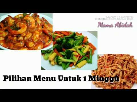 Masakan Sederhana Sehari Hari Untuk 1 Minggu