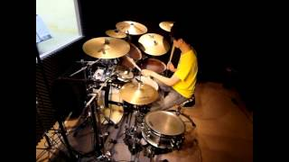 五月天 - 三個傻瓜 drum cover by A-Chih Li