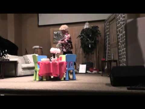 Reuber Play Funny Church Christmas Skit - You Did It For Me - YouTube