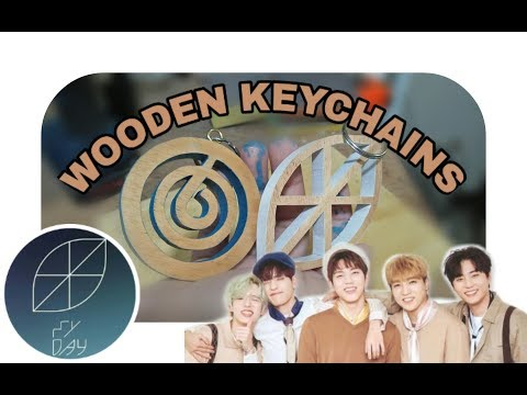 DAY6 & My Day Wooden Keychains
