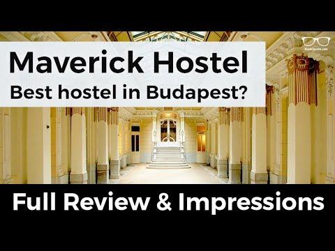 Maverick Hostel Budapest - REVIEW 2017 and impressions
