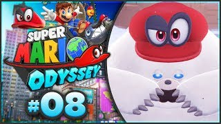 Super Mario Odyssey - Snow Kingdom 100% Walkthrough! [Part 8]