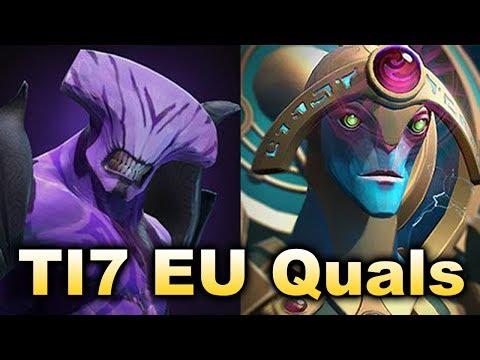 Alliance vs Saphira - TI7 EU Open Qualifier Semi-Final DOTA 2