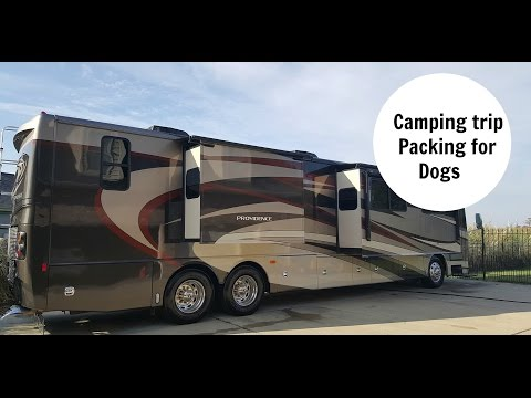 CAMPING PACKING for Dogs