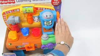 Juguete Carpinteria Sonidos Fisher Price