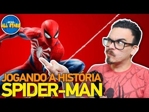 SPIDER-MAN (PS4) | História Completa