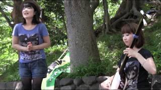 輝&輝 - 東京音頭 2011.07.10 上野公園.
